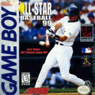 All-Star Baseball '99 Cover Art